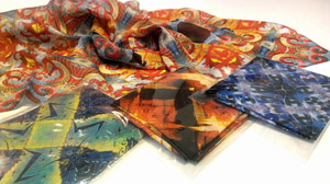 Indra's Jewels Scarves